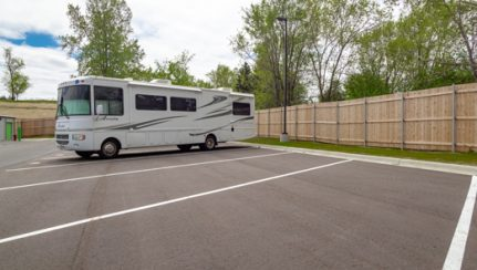 Secured RV-Trailer Parking